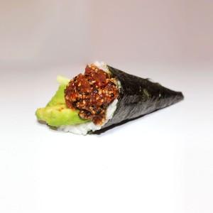 Temaki atún picante