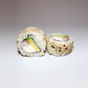 Queso California roll