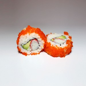 Masago California roll