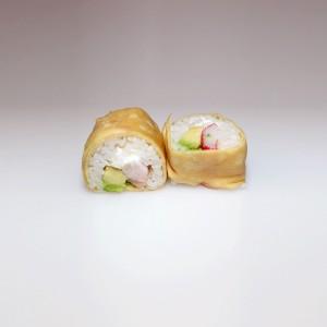 Tamago cangrejo roll