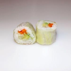 Lechuga vegetal roll