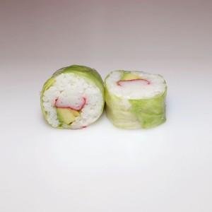 Lechuga cangrejo roll