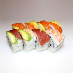 Mezcla California roll