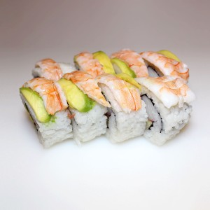 Langostino California roll